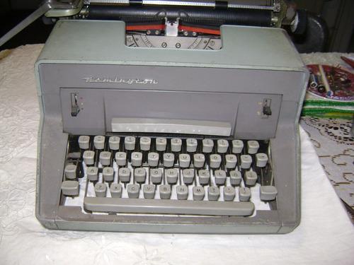 antigua maquina escribir remington