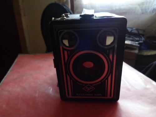 antigua máquina fotográfica agfa