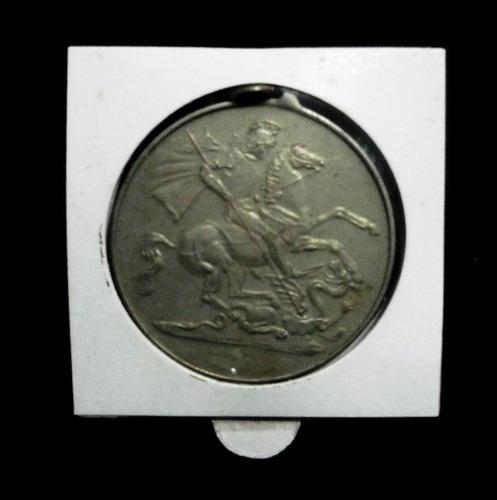 antigua medalla capilla de san jorge