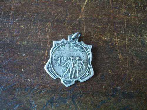 antigua medalla mar del plata centenario 1810 1910