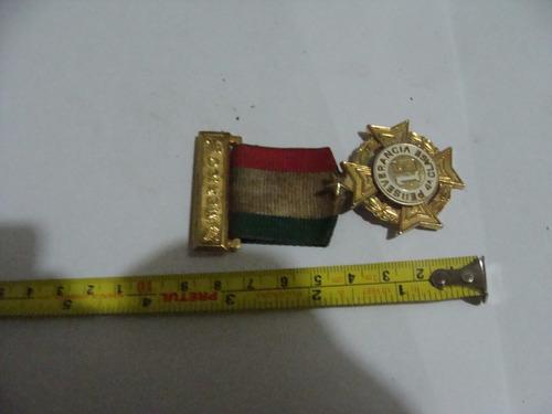 antigua medalla perseverancia 4ta clase , año 1985