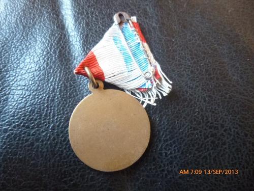 antigua medalla sociedad de obreros de san jose-chile
