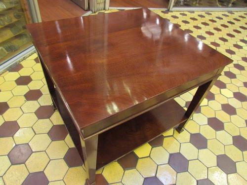antigua mesa de caoba solida, excelente terminaciones