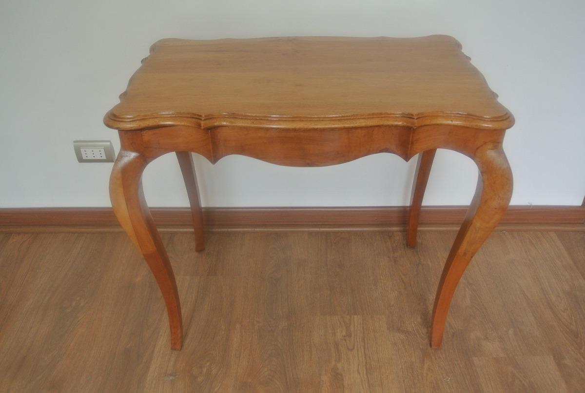 Antigua mesa de centro normando frances en for Mesas de centro antiguas