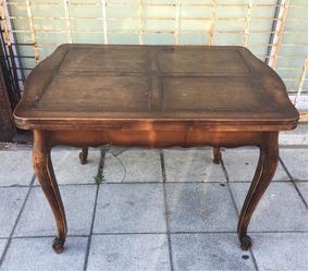 antigua mesa - isabelina - madera caoba - ovala - Comprar Mesas ...
