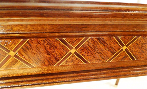 antigua mesa francesa estilo luis xvi madera de nogal