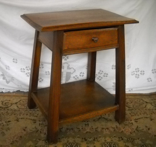 antigua mesa teléfono adornos roble eslavonia ratona