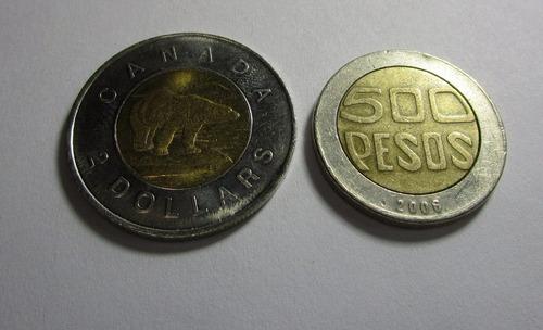 antigua moneda canada 2 dollars elizabeth 1996