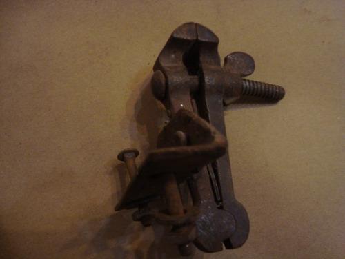 antigua morza chiquita d platero o bicicletero 12cm d altura