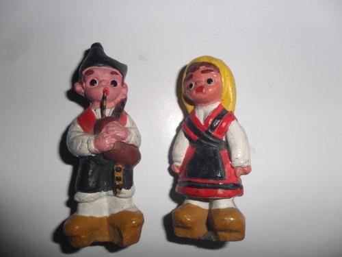 antigua muñeca muñequita muñeco español terracota gaita