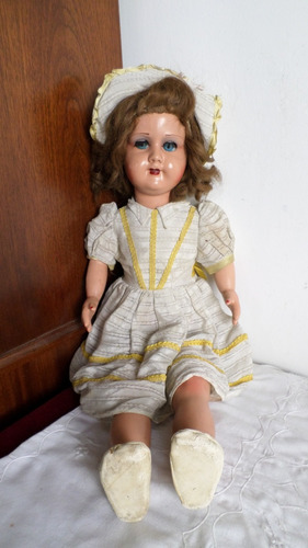antigua muñeca pasta linda miranda gran tamaño ropa original