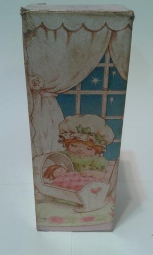 antigua muñeca perfumero avon con caja original - coleccion-