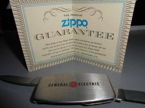 antigua navaja zippo bolsillo general electric envio gratis