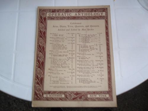 antigua partitura aida o cieli azzuri romance soprano verdi