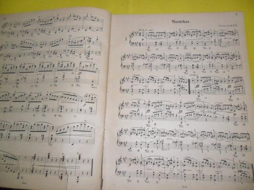 antigua partitura fr chopin piano herrmann scholtz walzer
