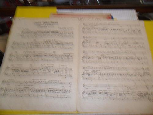 antigua partitura luna veneciana gus kahn goldberg magine