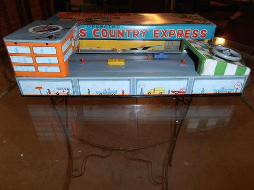 antigua pista cross country express año 58 japon devoto toys