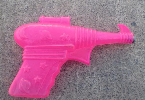 antigua pistola de el espacio bootleg hecha en mexico!