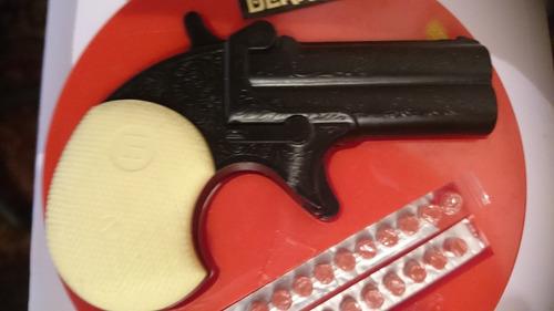 antigua pistola remington a cebitas - maden in italy