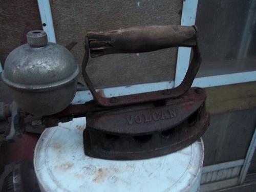 antigua plancha a bencina