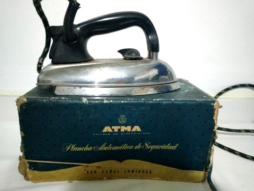antigua plancha automática de seguridad atma eléctrica func