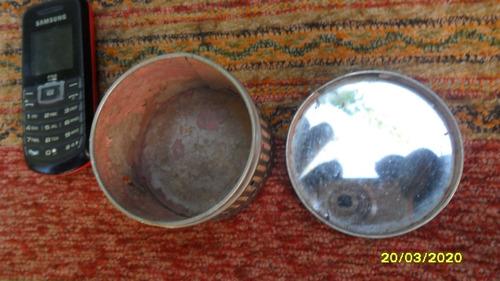 antigua polvera de tocador germany con espejo