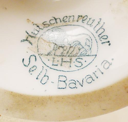 antigua porcelana alemana marca kutschenreuther selb bavaria