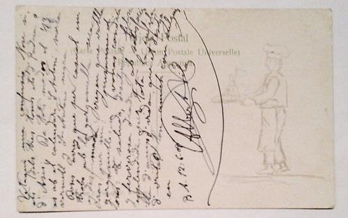 antigua postal buenos aires bolsa de comercio 1909