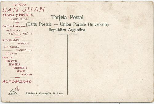 antigua postal casa gobierno bs. as. publicidad tienda
