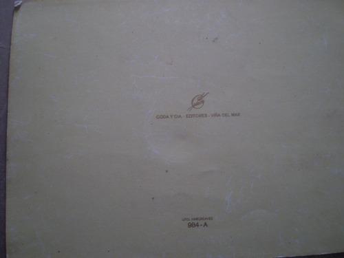 antigua postal codarte  1961
