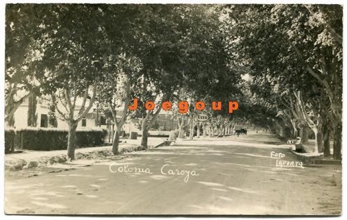 antigua postal estacion esso calle de colonia caroya cordoba