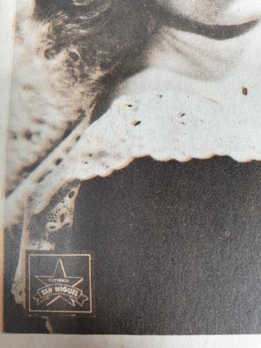 antigua postal eva duarte artista- eva peron - evita