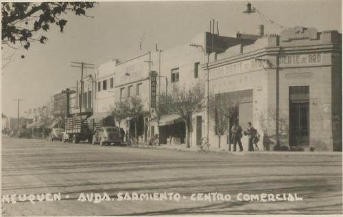 antigua postal neuquen, av. sarmiento centro comercial