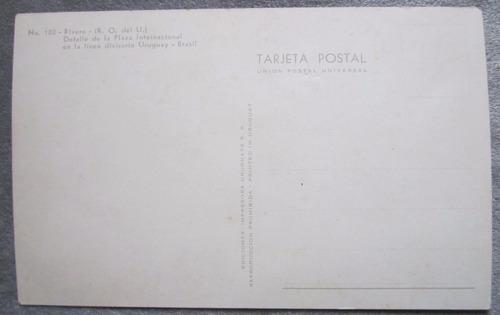 antigua postal rivera uruugay plaza internacional divisoria