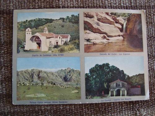 antigua postal sierras de cordoba carlos cabrera pauli 14x10