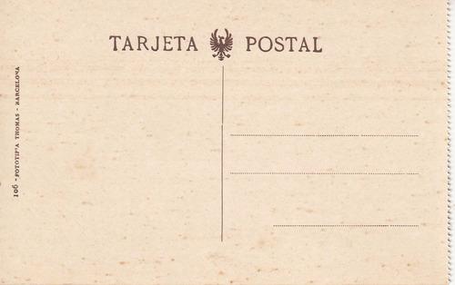 antigua postal tranvia y vehiculos a sangre puente valencia