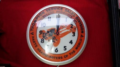 antigua publicidad reloj usa antiguo retro vintage auto