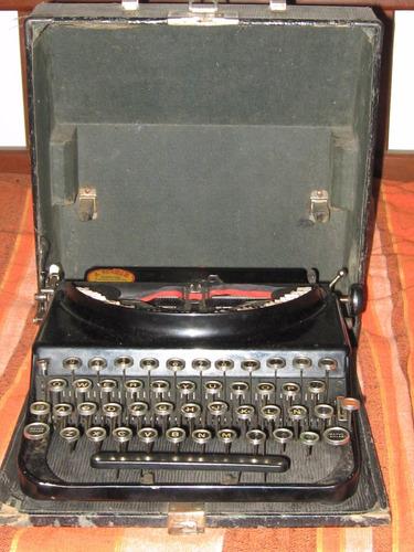 antigua remington portátil #150