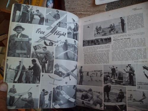 antigua revista aeromodelismo aeromodeller agosto 1958