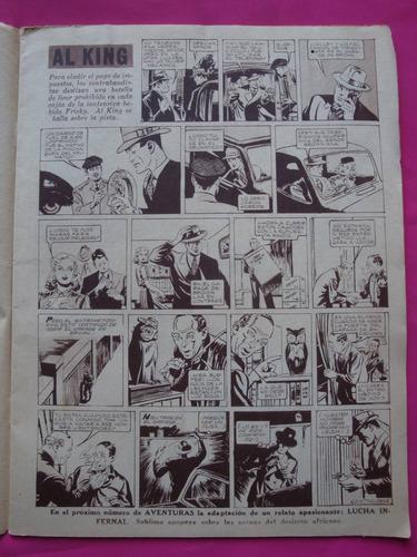 antigua  revista aventuras n° 70 año 1948