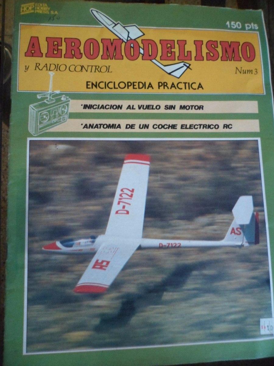 Antigua Revista Aviones Aeromodelismo - $ 250,00 en Mercado Libre