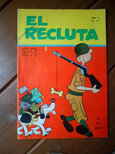 antigua revista comic el recluta ed. lord cochrane 1969