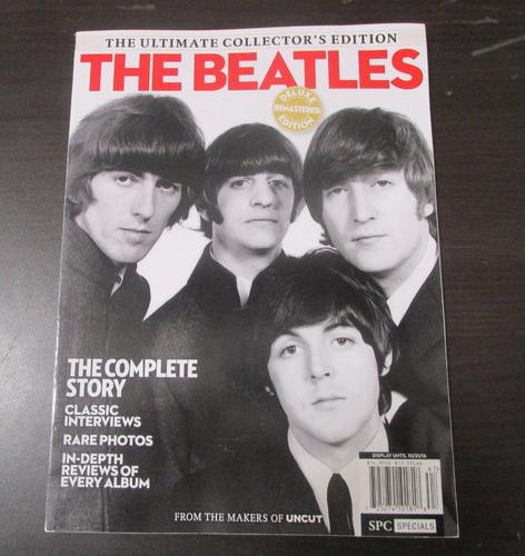 antigua revista de coleccion portada the beatles