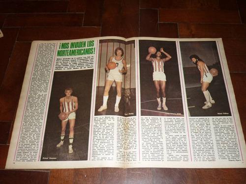 antigua revista diario la nacion 1978 astor piazzolla tango