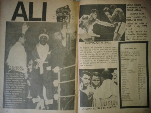 antigua revista la historia de los pesos completos