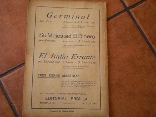 antigua revista la novela grande nº17 el vizconde (631