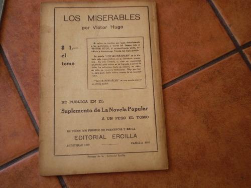 antigua revista la novela grande nº18 el vizconde brage(337w