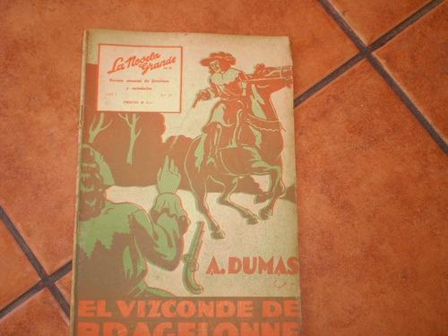 antigua revista la novela grande nº19 el vizconde  (630