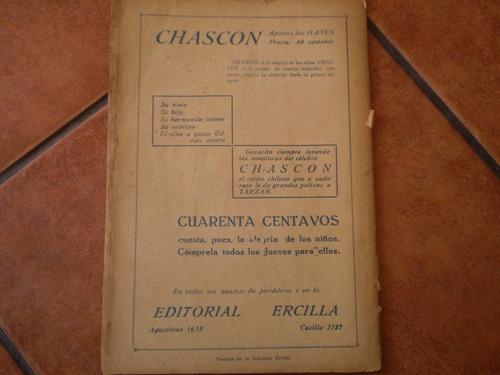 antigua revista la novela grande nº20 el vizconde de (343w