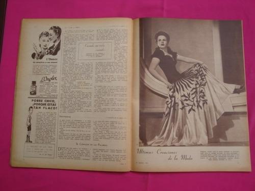antigua revista para ti n° 1035 año 1942 - mercedes gisper